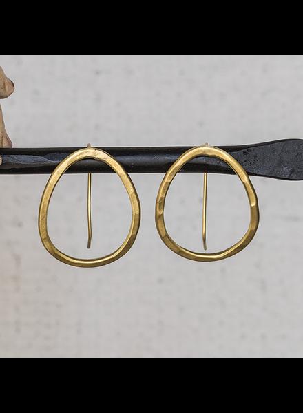 OraTen Cadence Earrings, Oval - Sm