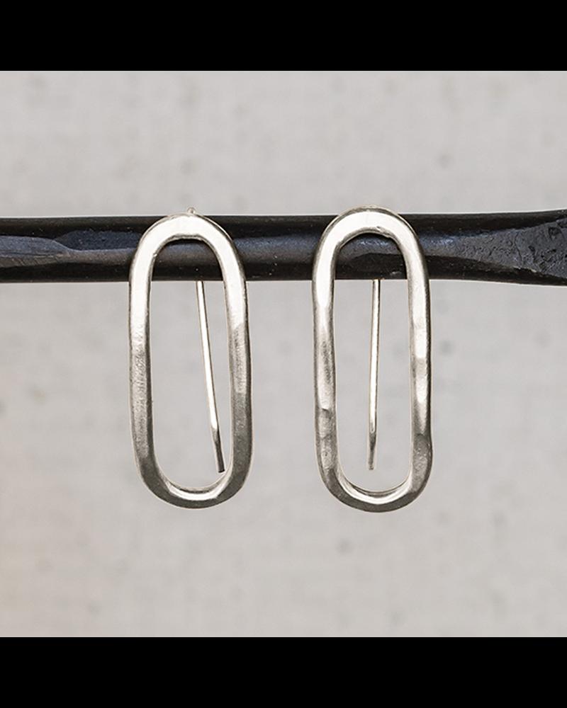 HomArt Cadence Silver Earrings, Capsule - Sm