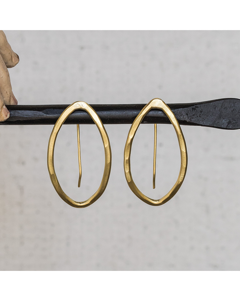 OraTen Cadence Earrings, Bi-Convex - Sm