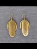 HomArt Brass Double Pod Earrings