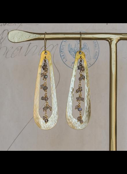 HomArt Iota Earrings - Labadorite