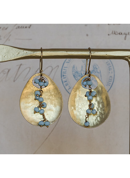 OraTen Ovo Earrings - Amazonite