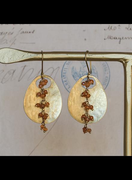 OraTen Ovo Earrings - Carnelian