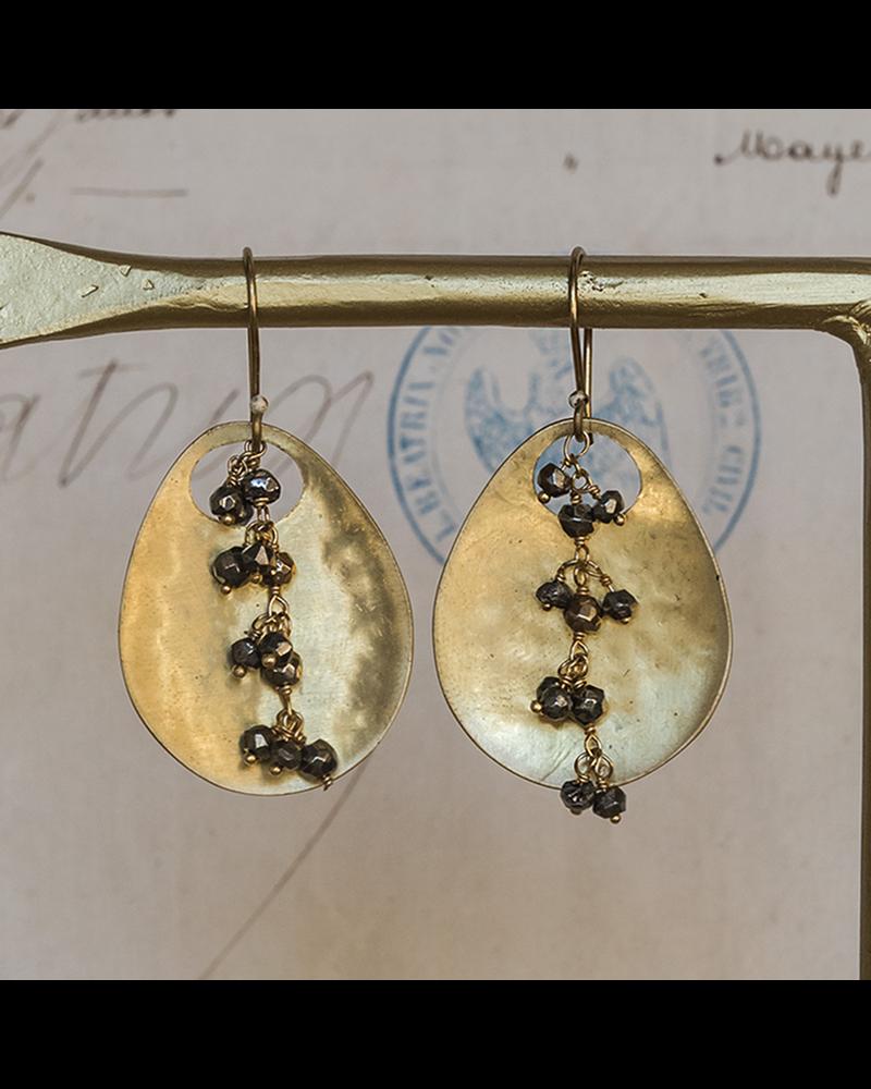 OraTen Ovo Earrings - Pyrite