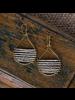 OraTen Mela Beaded Earrings - Nickel