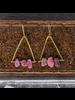 OraTen Pinnacle Earrings - Raw Tourmaline