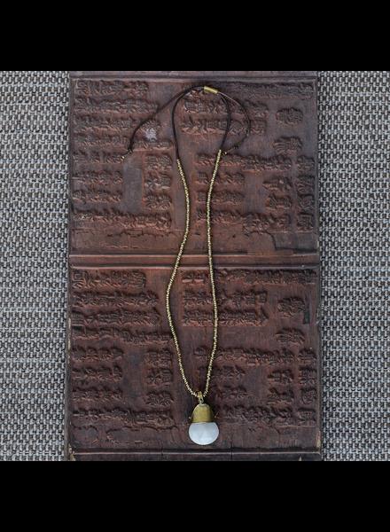 HomArt Shaman Necklaces - White Jade