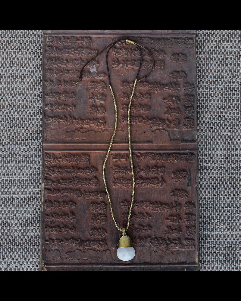 OraTen Shaman Necklaces - White Jade