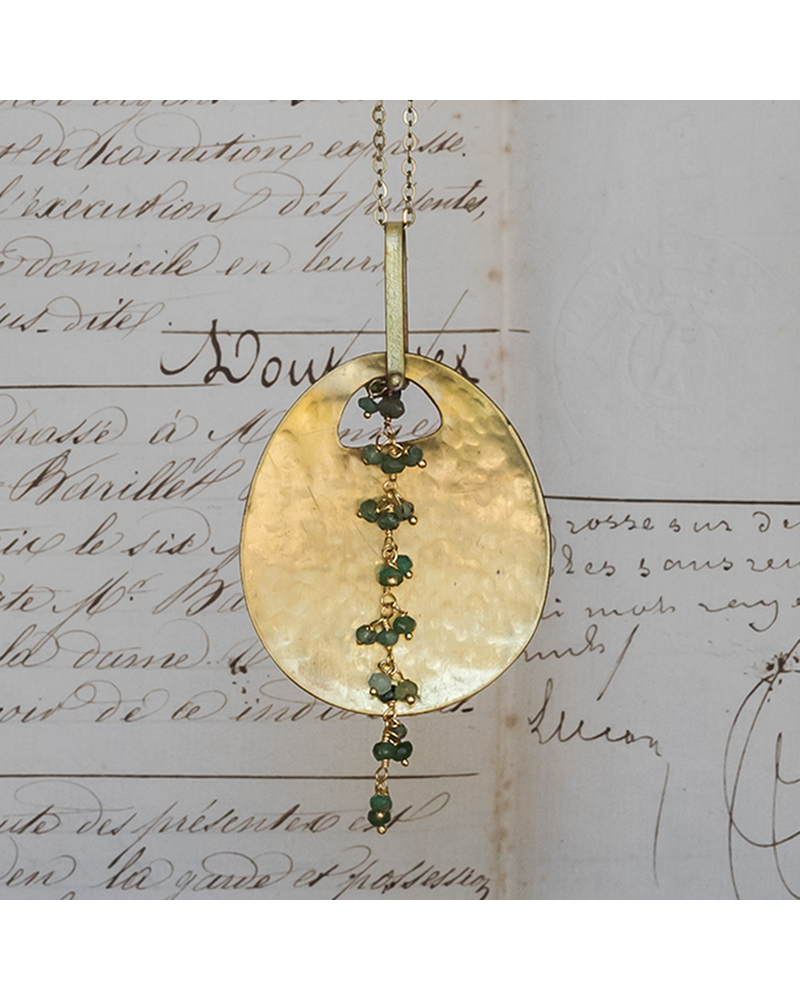 HomArt Ovo Necklaces - Chrysophrase