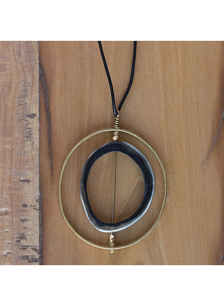 OraTen Pendant with Floating Horn Section