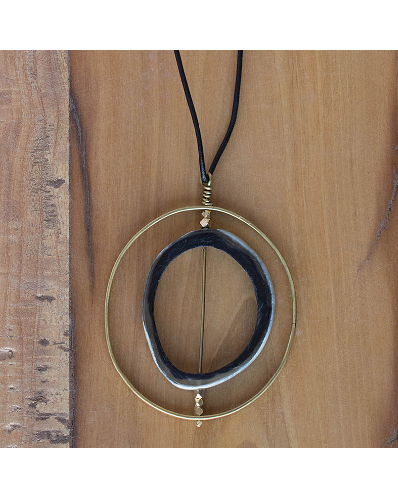OraTen Pendant with Floating Horn Section - Horn