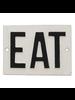HomArt Cast Iron Sign - EAT