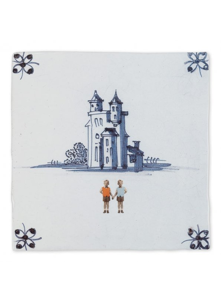 Storytiles Happily Ever After For Boys Tile 4""
