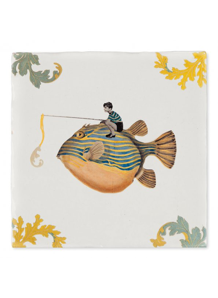 Storytiles Catch Of The Day Tile 4""