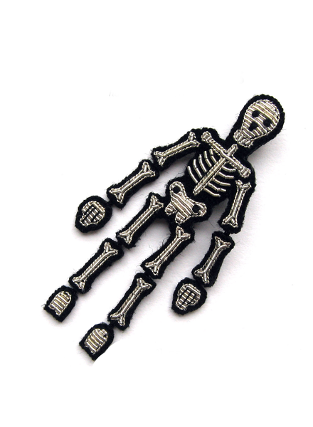 Macon & Lesquoy Pins Skeleton Pin