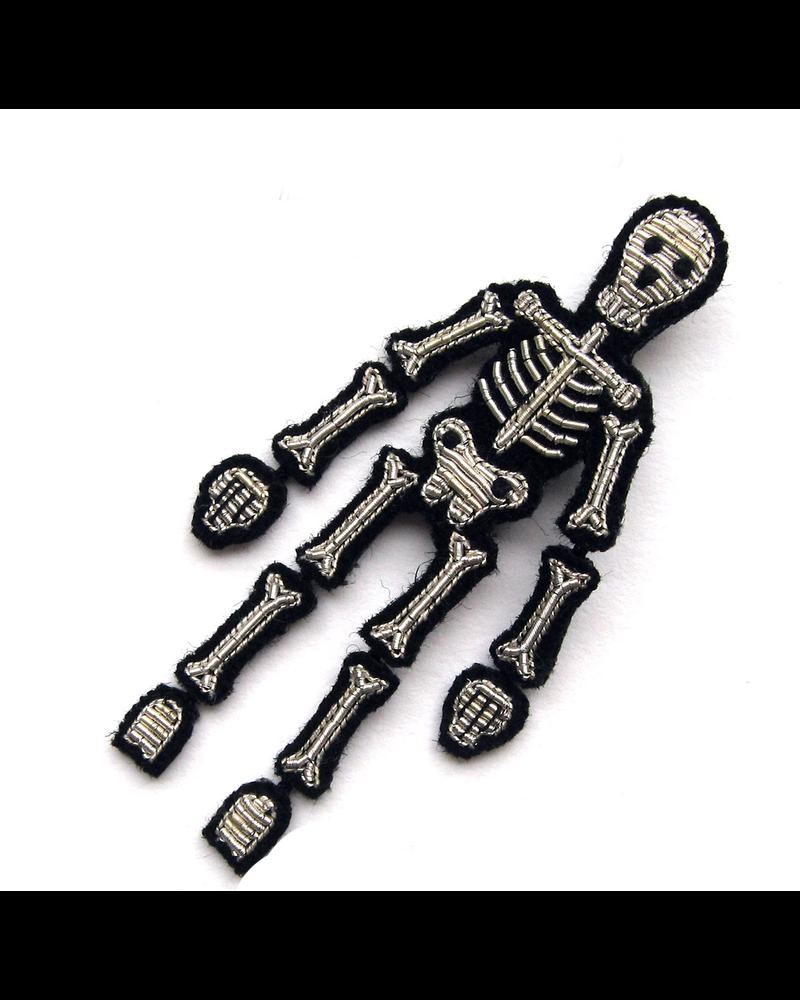 Macon & Lesquoy Pins Skeleton Pin