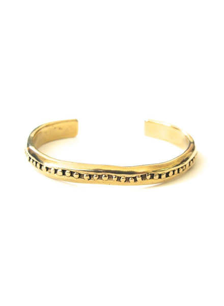 Marisa Mason Inverness Brass Bangle