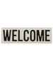 HomArt Cast Iron Sign - WELCOME