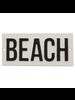 HomArt Cast Iron Sign - BEACH