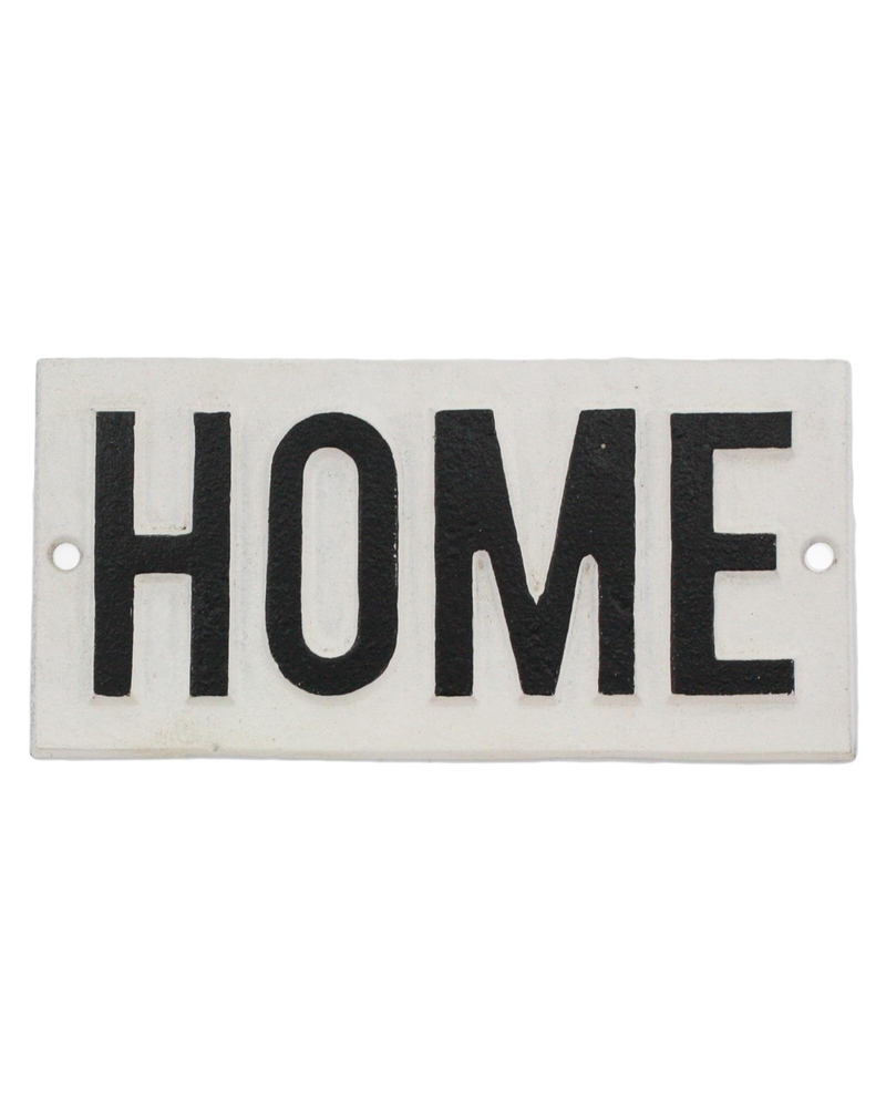 HomArt Cast Iron Sign - HOME