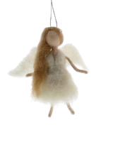 HomArt Felt Angel Ornament - Blonde