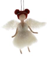 HomArt Felt Angel Ornament - Ginger