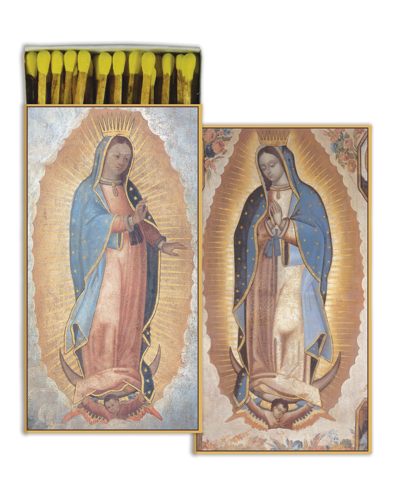HomArt Guadalupe HomArt Matches - Set of 3 Boxes