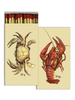 HomArt Crab & Lobster HomArt Nautical Matches Set of 3 Boxes