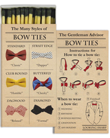 HomArt Bowties - Matches Set of 3 Boxes