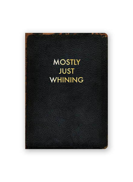 Mincing Mockingbird Whining Journal