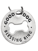 Pewter Dog Blessing Ring - Bakers Dozen (online only)