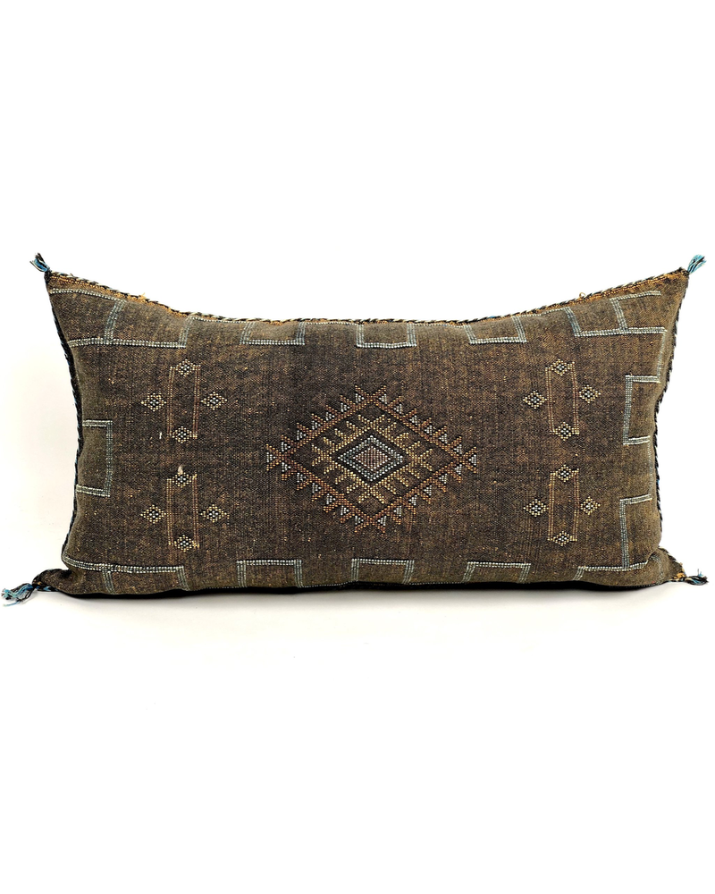 Bryar Wolf Moroccan Pillow - Zap Print 22x38