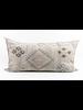 Bryar Wolf Moroccan Pillow - Viola Print 22x38