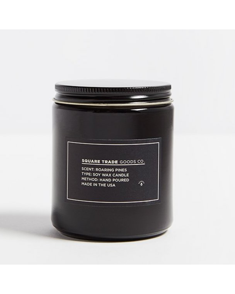 Square Trade Goods co. Roaring Pines Candle 8oz
