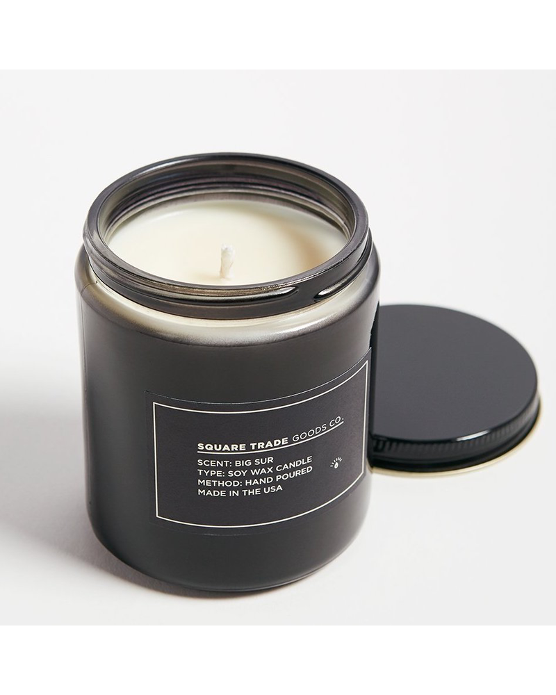 Square Trade Goods co. Big Sur Candle 8oz