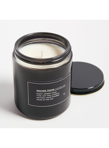 Square Trade Goods co. Desert Sage Candle 8oz