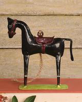 HomArt Race Horse Ornament - Black