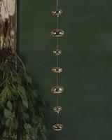 HomArt Glass Ball Strands - Amber