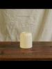 HomArt Matte White Margot Vase - Stripe - set of 2