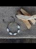 OraTen Amaranth Beaded Bracelet - White