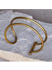 OraTen Nusa Parallel Wire Cuff - Brass