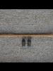 OraTen Cerro Earrings, Glass Bead & Brass - Cobalt