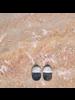 OraTen Mariposa Earrings, Wood & Horn Linked - Capsule - Dark Horn