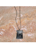OraTen Gila Pendant, Horn Linked - Arch & Trapezoid - Dark Horn