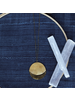 OraTen Moonrise Pendant - Round, Lrg - Brass - Brass