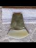 OraTen Jakarta Brooch - Arch - Light Horn, Brass