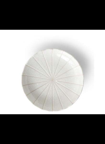 """Miya Company Kasa White 6.5"""" Plate"""