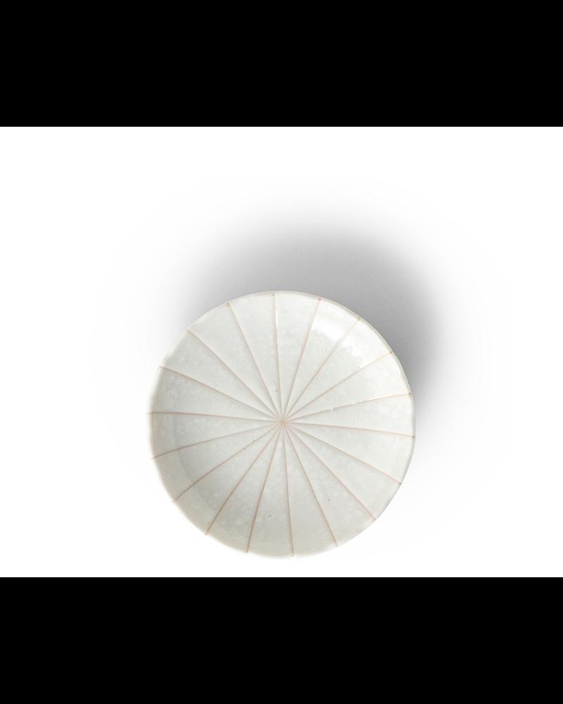 """Miya Company Kasa White 4.75"""" Plate"""