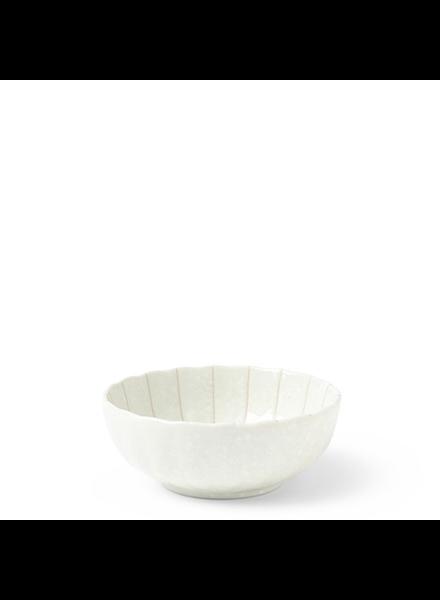 "Miya Company Kasa White 4""x1.5"" Bowl"