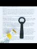 HomArt Black Flat Forged Iron Bottle Opener - Set of 2